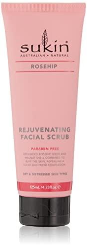 Sukin Rosehip Rejuvenating Facial Scrub, 125 ml