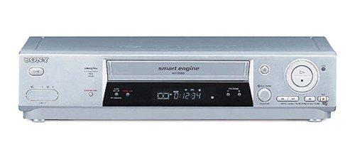 Sony SLV-SE810 - Reproductor de vídeo VHS (Hi-Fi), color plateado