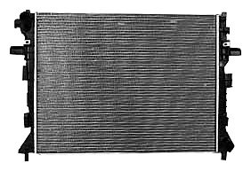TYC 2852 Compatible with Ford Crown Victoria 1-Row Plastic Aluminum Replacement Radiator