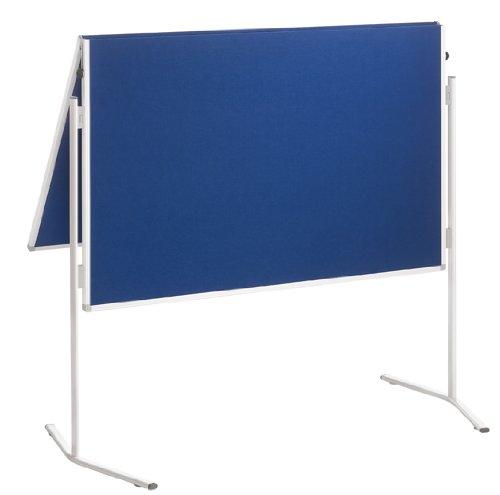 Franken ECO-UMTFG03R Moderationstafel, 120 x 150 cm, Filz blau