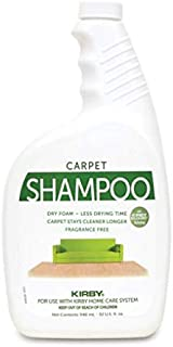 Genuine Kirby Allergen Control Formula Foaming Carpet Shampoo (Unscented) 32oz Kirby Part #252703