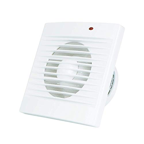 Hon/&Guan /Ø150mm Badl/üfter Silent mit 201m/³//h Effiziente L/üftung,Abluftventilator f/ür Badezimmer//Schlafzimmer//B/üro A-150mm