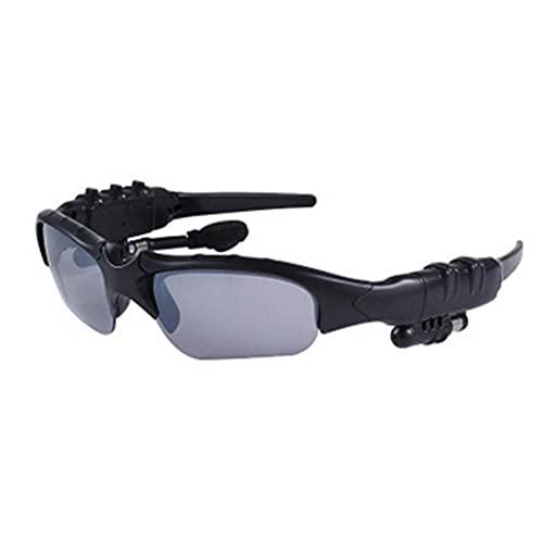 Pinzheng 2 en 1 Mini gafas de sol Inalámbrico Bluetooth Earphone Gafas Gafas Reproductor de música Gafas de sol Smart Bluetooth Auriculares para ciclismo al aire libre Correr