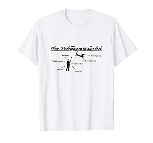 Modellflieger RC Pilot fliegen Heli KunstGeschenk T-Shirt
