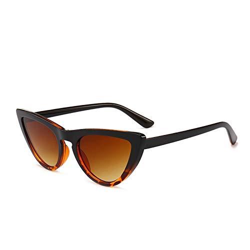 Astemdhj Gafas de Sol Sunglasses Las Más Nuevas Gafas De Sol De Ojo De Gato Sexis para Mujer, Gafas De Sol para Mujer, Gafas Vintage Cateye C6LeopardAnti-UV