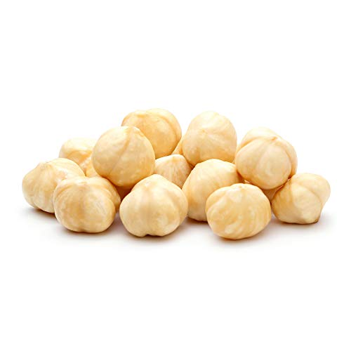 Anna and Sarah Roasted Unsalted Blanched Turkish Hazelnuts in Resealable Bag, 2 Lbs