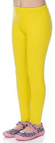 Merry Style Leggins Mallas Pantalones Largos Ropa Deportiva Niña MS10-130 (Limón, 158 cm)