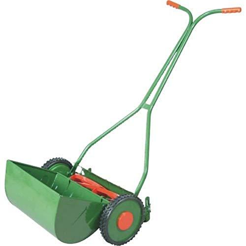 KROST Metal (Cutting Width 14 inch) Manual Lawn Mower (Green)