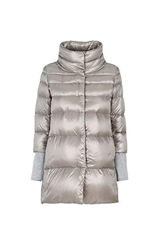 Herno Luxury Fashion Donna PI070DR120179406 Grigio Poliammide Piumino   Autunno-Inverno 21
