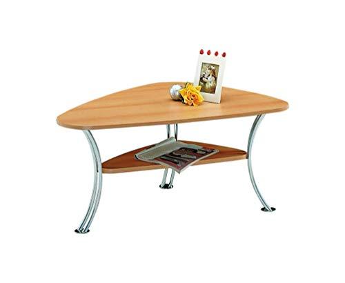Alfa-tische M451 tavolino da salotto'Speed', 90 x 55 cm, in legno di faggio cuneo a forma