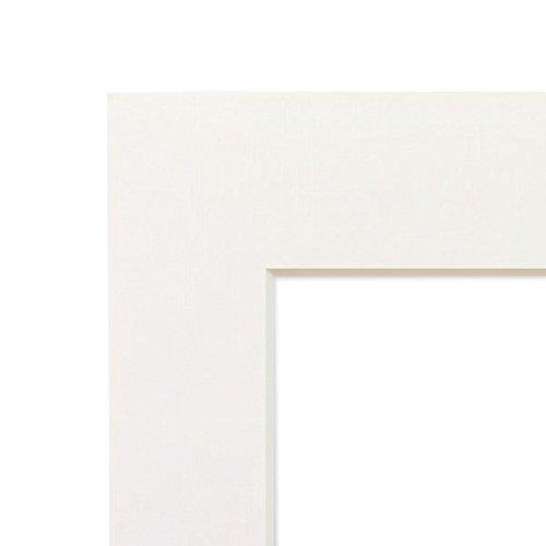 PHOTOLINI Passepartout Weiß 15x20 cm (10x15 cm)