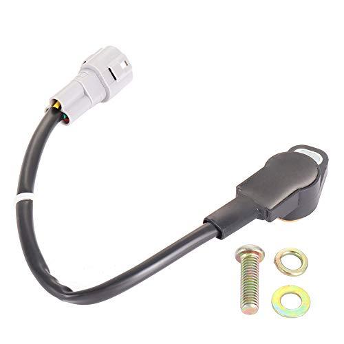 TUPARTS TPS Throttle Position Sensor Fit 2008-2009 P-olaris Ranger 700, 2004-2007 P-olaris Sportsman 700, 2005-2014 P-olaris Sportsman 800 Automotive Replacement Throttle Position Sensor