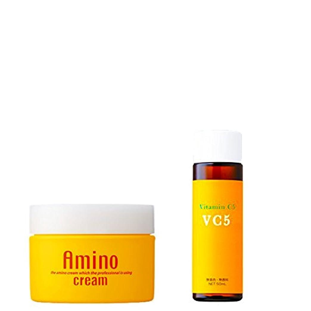 勝つ合計インスタンスエビス化粧品(EBiS) 毛穴引き締め保湿セット大容量版 アミノクリーム&Cエッセンス50ml(ビタミンC美容液)美容クリーム 保湿クリーム