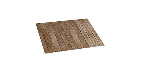 STOR PLANET Madera Alfombra vinílica, 100% PVC Reciclado, Mod.Wood, 45 x 75 cm