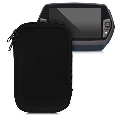 kwmobile Tasche kompatibel mit Bosch Nyon - E-Bike Computer Neopren Hülle - Schutztasche Schwarz