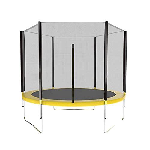 AoFeiKeDM 10 FT Studsmatta staket för barn och vuxna inomhus utomhus studsmatta staket vuxen trampolin anti-fall PE staket kapsling nät - ASTM godkänd