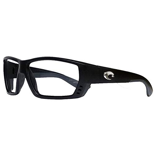 Costa Del Mar Tuna Alley Leaded X-Ray Radiation Protection Safety Glasses (Matte Black)