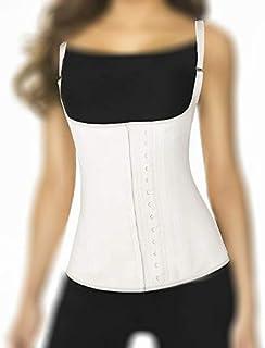 Ann Chery Classic Latex Vest Corset 2028, Size 3XL, Beige