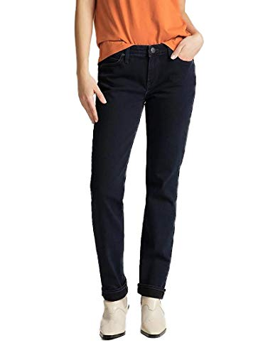 Lee Damen Marion Straight Jeans, Clean Ballad, 28W / 33L