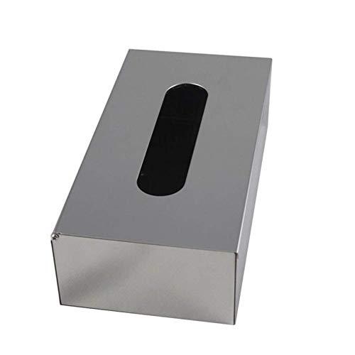 Caja Para Pañuelos Caja de tejido húmedo de acero inoxidable Hombre Durable Sello de escritorio Sello de bebé Toallitas de bebé Caja de almacenamiento Dispensador Caja de tejido impermeable Soporte pa