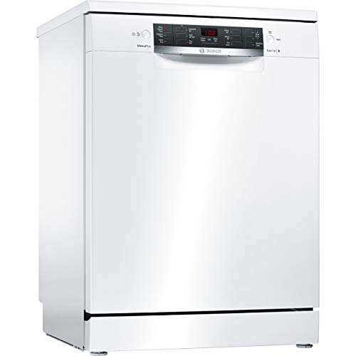 Bosch Serie 4 SMS46IW10G Standard Dishwasher - Wh