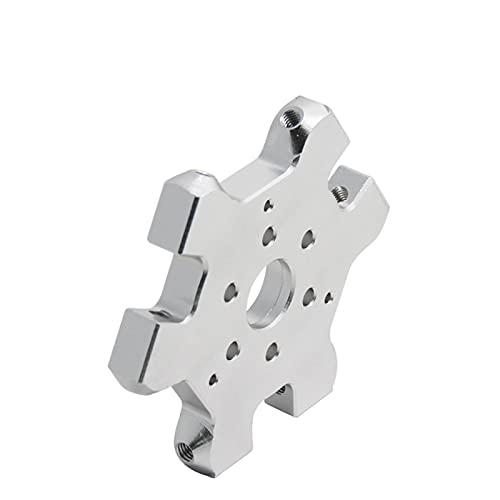 UUFA Parte della Stampante 3D 1pcs M3 m4. Delta Kossel Stazione Appeso Singola Doppia Testa di Alluminio Hammock Hammock Fisheye Effector for V6 Print Head Height (Color : for Dual Print Head)