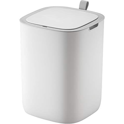 Withou La Basura del hogar Inteligente Puede, Sala de Estar Cocina Dormitorio Baño automática del Sensor Bote de Basura, Simple Europea Creativo con Tapa de Cierre Bins, Adecuado para Familia, Cocina