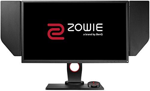 """BenQ ZOWIE XL2540 e-Sports Gaming Monitor con 1 ms, 24.5"""", 240 Hz, Regolabile in Altezza, S Switch, Nero eQualizer, FHD, DP, Dark Grey [Vecchio Modello]"""