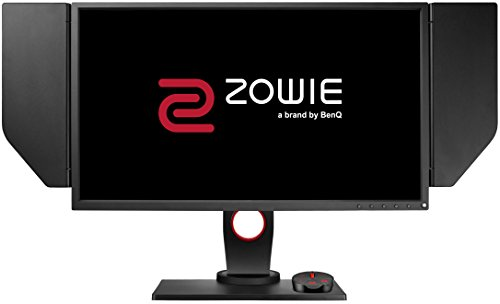 BenQ Zowie XL2540 e-Sports Gaming-monitor, 62,20 cm (24,5 inch), in hoogte verstelbaar, S Switch, Black eQualizer, Shield, 1 ms reactietijd, 240 Hz, grijs