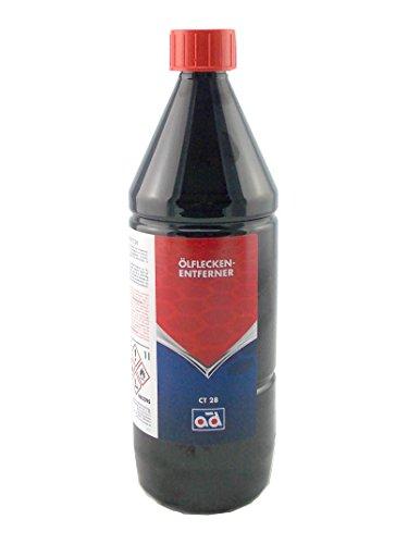 Preisvergleich Produktbild AD Chemie Ölfleckenentferner CT28 1L Flasche Schraubverschluss für alle Untergründe Teppich Terrasse Garage Keramik Naturstein Marmor Granit uvm. 4726010042
