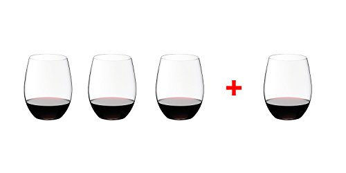 Riedel O Wine Tumbler Cabernet/Merlot, Set of 4, Clear - 7414/0