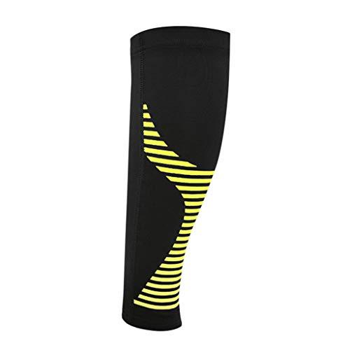 Sports Waden Kompressionsstrümpfe - Sleeves für Männer & Frauen - Wadenbandage für Schnelle Erholung, Bessere Blutzirkulation, Laufen, Radfahren, Triathlon, Flugreisen, Krankenschwestern