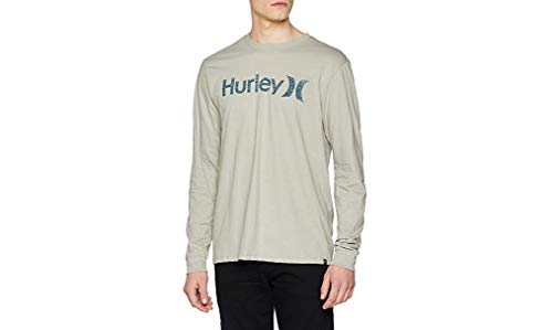 Hurley M One&Only Push Through Camisetas, Hombre