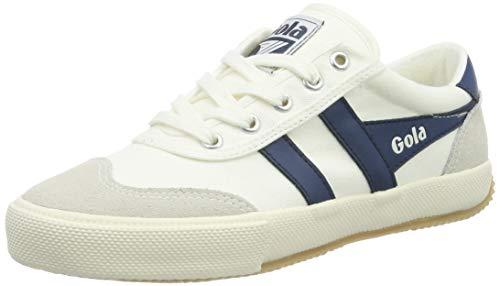 Gola Damen Cla548 Sneaker, Elfenbein (Off White/Baltic WE), 36 EU