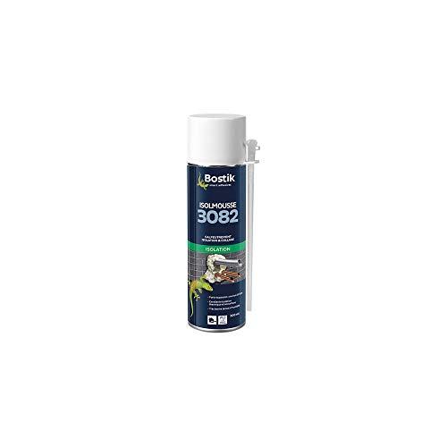 Bostik ISOLMOUSSE 3082 Mousse Polyuréthane Expansive Aérosol (500 ml)