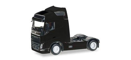 Herpa 303767–004Volvo FH GL Globetrotter Tren eléctrica Vehículos en miniatura, color negro , color/modelo surtido