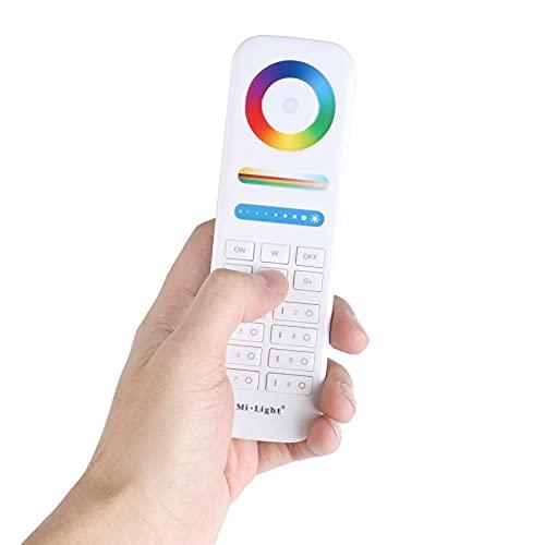 RF Draadloze RGBW Controller Wifi, Milight 2.4G Draadloze 8-Zone Afstandsbediening voor RGB + CCT Led-lampen Stripverlichting