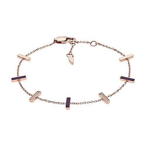 Fossil Vrouwen RVS Ketting Armband JF03030791
