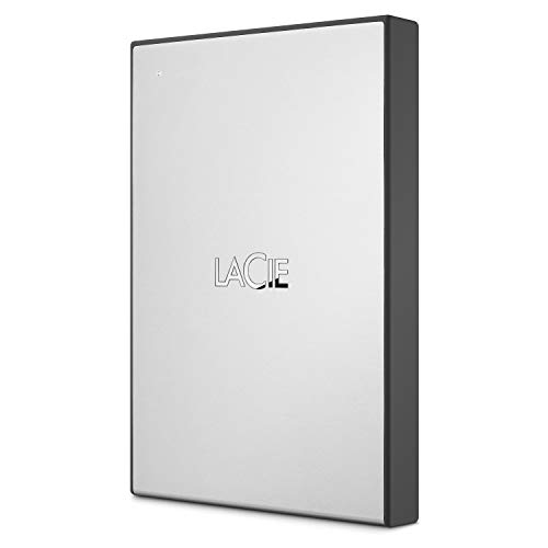 LaCie 2TB USB 3.0 Portable External Hard Drive with 1 Month Adobe CC All Apps Plan (STHY2000800)