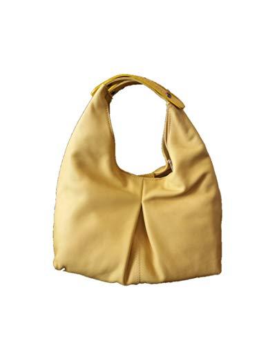 Braun Rot Feuer Tasche A195P Gelb