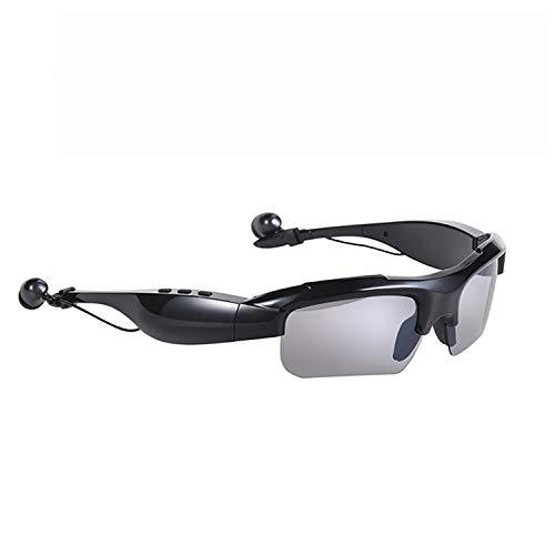 QQO Gafas De Sol Deportivas, Equipo De Música Gafas De Sol De Bluetooth 4.0 Gafas Polarizadas Gafas De Deporte Auriculares con Micrófono Gafas Ciclismo Inteligente Lentes