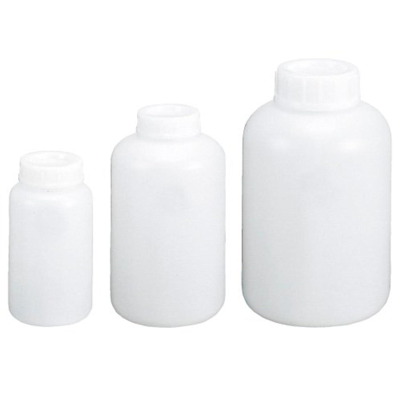 ヘアどうやって船尾ポリ瓶(広口)白 30CC ????????????(08-2785-01)【コクゴ】[1本単位]