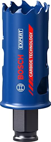 Bosch Professional 1 x Sierras de corona Expert Tough Material, para Madera con metal, 35 mm, Accesorios Taladro de impacto rotativo
