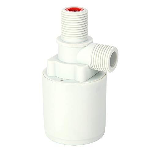 Válvula de flotador de plástico G1 / 2in, válvula de bola flotante de control de nivel de agua para tanques de agua altos, piscinas, torres de agua industriales