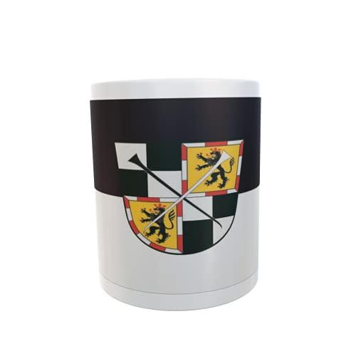 U24 Tasse Kaffeebecher Mug Cup Flagge Bayreuth