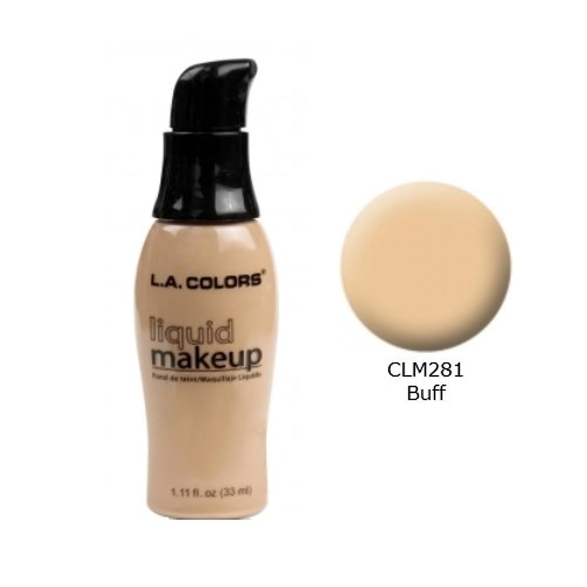 顎おばさんプライバシー(3 Pack) LA COLORS Liquid Makeup - Buff (並行輸入品)