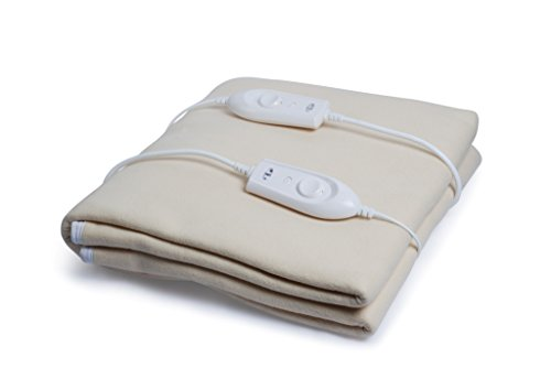Expressions Polyester and Polyester Blend Standard Electric Under Blanket, Brown