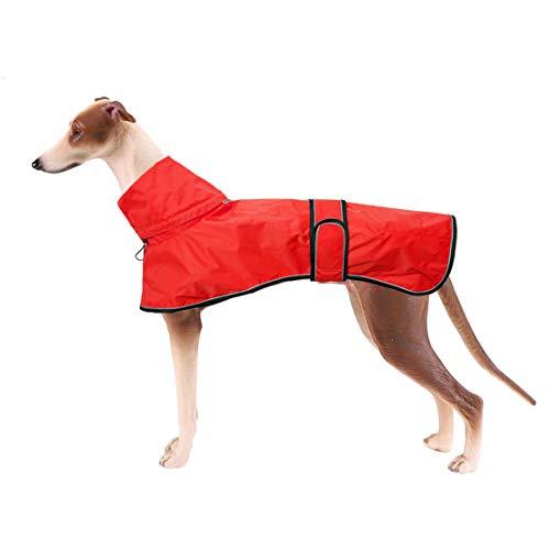 Chubasquero ligero para perros, ajustable con correas reflectantes y agujero para el...