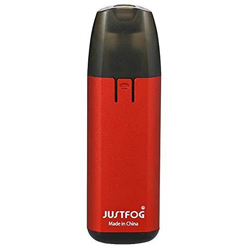 Original JUSTFOG MINIFIT Zigarette AIO Starter set kit Akku 370 mAh, mit Pod 1,5 ml (Produkt ohne Nikotin) (Rot)