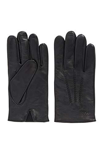 BOSS Herren Grifin Handschuhe aus Nappaleder mit elastischem Einsatz